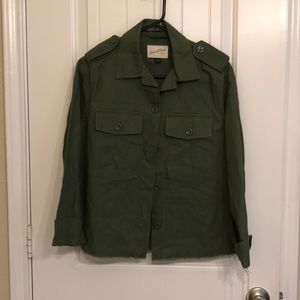 Universal Threads NWT Olive Army jacket size S
